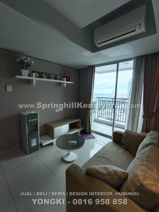 Disewakan Apartemen Springhill Terrace Kemayoran 3BR (SKC-6211)