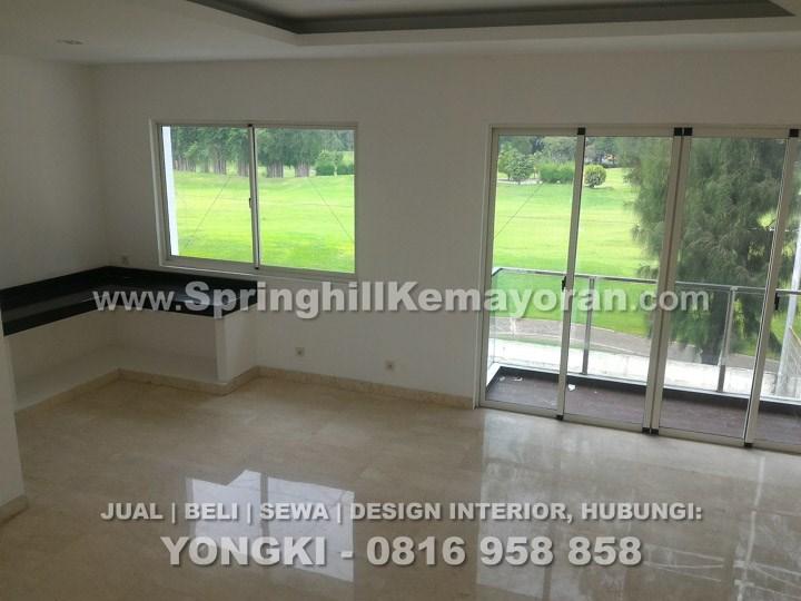 Rumah 8x25 Golf View di Golf Residence Kemayoran (SKC-5902)