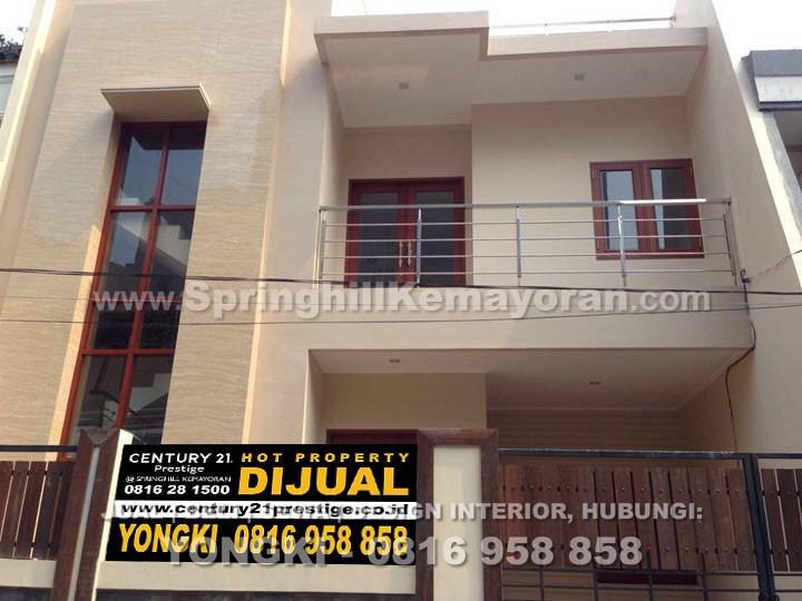 Rumah 2½ lantai di Sunter Agung (SKC-7874)