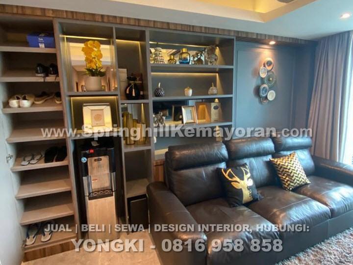 Springhill Terrace Kemayoran 2BR+1 Furnished Bagus (SKC-9170)