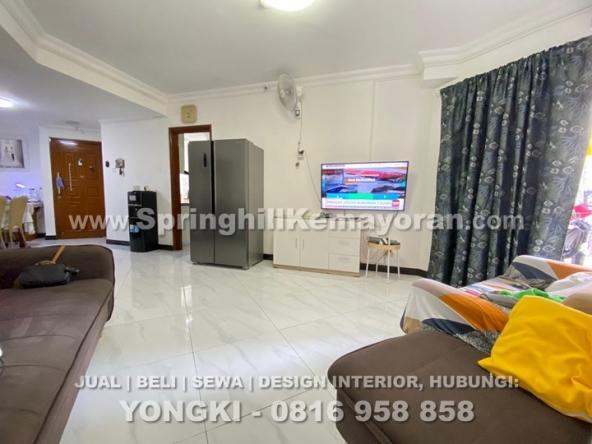 Taman Kemayoran Condominium 3BR (SKC-9889)